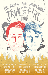 KC Aurora & Dennis Rooney: The Trial by Fire Tour