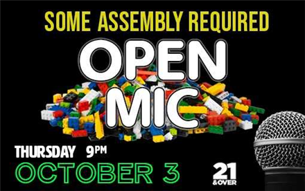 Some Assembly Required: An Open Mic