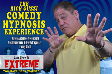 EXTREME Comedy Hypnosis Show With Rich Guzzi